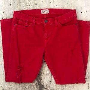 Current Elliott the stiletto jeans